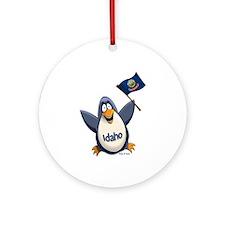 Idaho Penguin Ornament (Round)