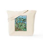 Read Green Tote Bag