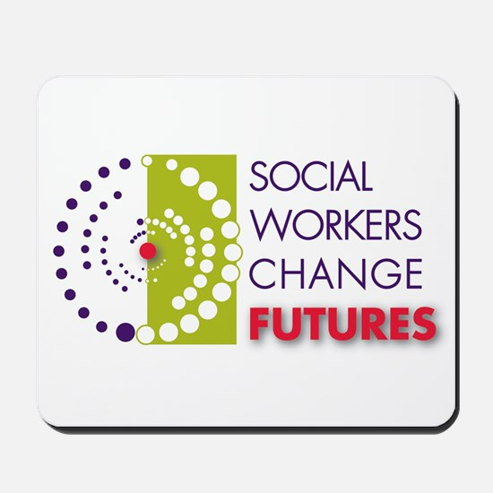 Social Workers Change Futures Mousepad