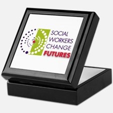 Social Workers Change Futures Keepsake Box