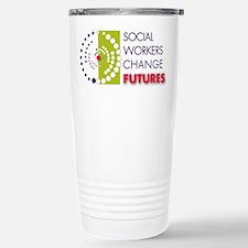 Social Workers Change Futures Travel Mug