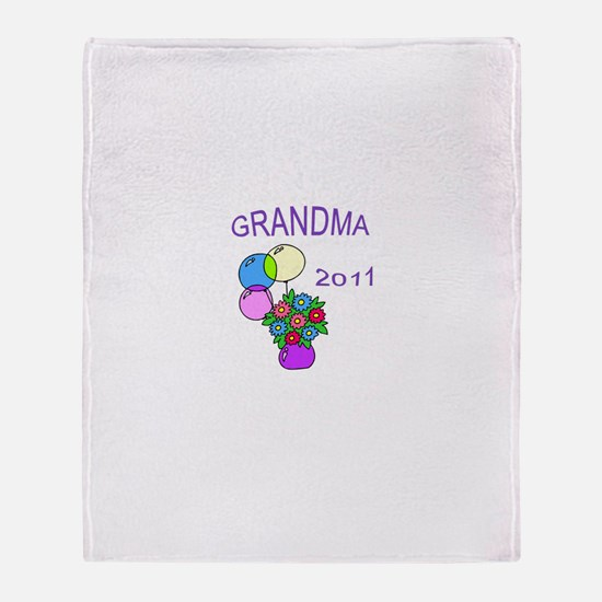 GRANDMA 2011-1 Throw Blanket