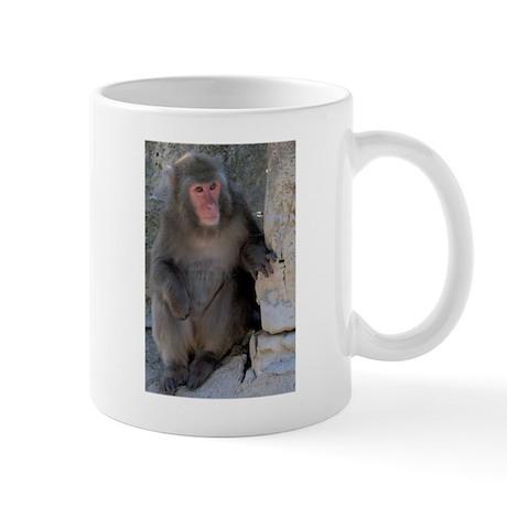 Japanese Macaque Definition Mug