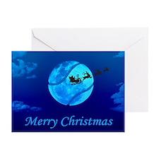 Santa Moon Christmas Cards (Pk of 10)