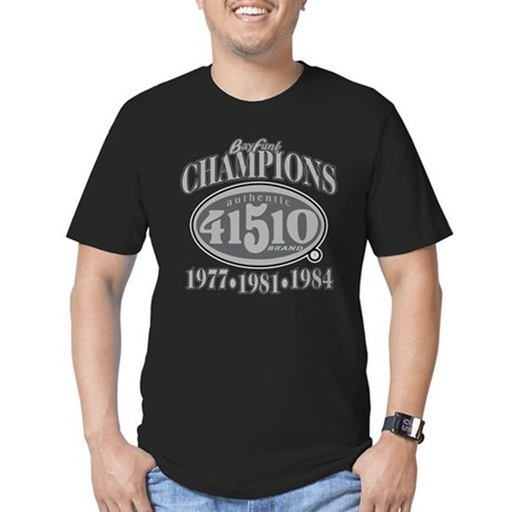 41510 Silver & Black Champs #1 | Fitted-T Men