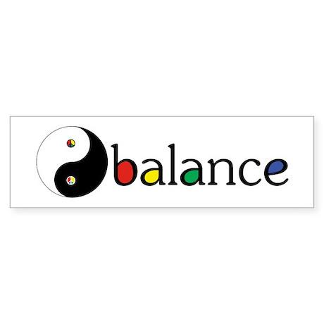 Peace Sign Dao Sticker (Bumper)