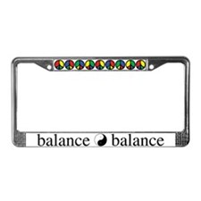 Peace Sign Dao License Plate Frame