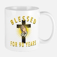 Blessed For 90 Years Mug