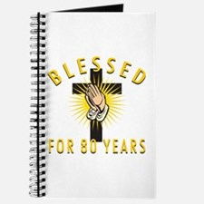 Blessed For 80 Years Journal