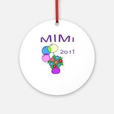MIMI 2011-1 Ornament (Round)