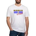 Korea Service Ribbon Fitted T-Shirt