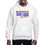 Korea Service Ribbon Hooded Sweatshirt