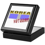 Korea Service Ribbon Keepsake Box