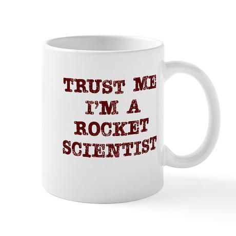 Rocket Scientist Trust Mug