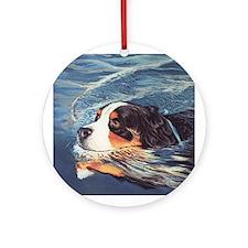 Mountain Dog Ornament