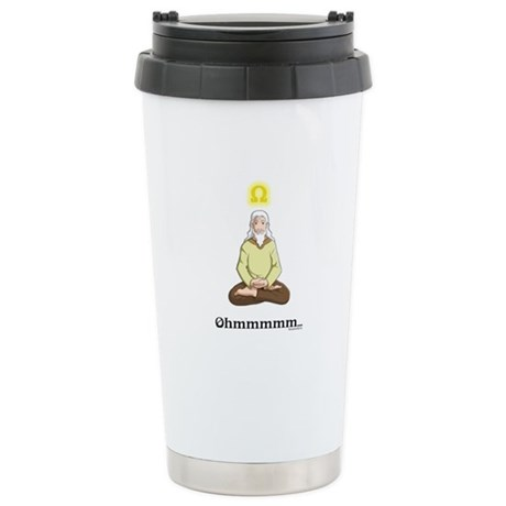 Ohmmm... Stainless Steel Travel Mug
