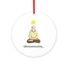 Ohmmm... Ornament (Round)