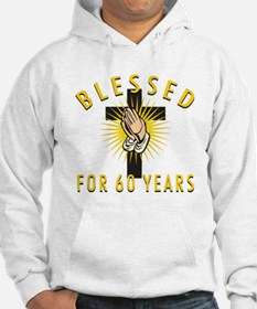 Blessed For 60 Years Hoodie