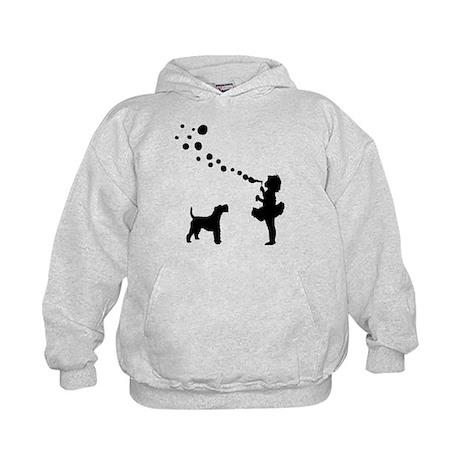 Wire Fox Terrier Kids Hoodie