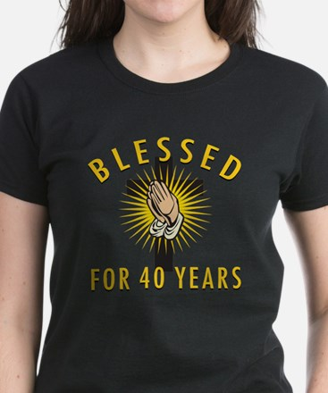 Blessed For 40 Years Tee
