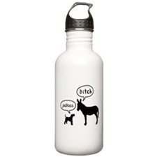 Wire Fox Terrier Sports Water Bottle
