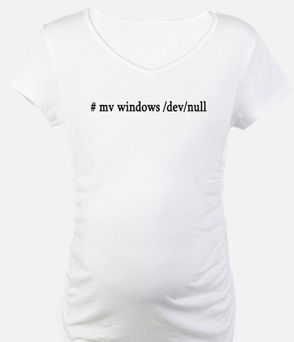 # mv windows /dev/null Shirt