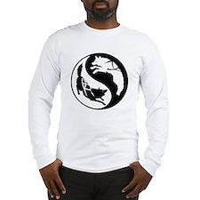 Yin-Yang Huskies Long Sleeve T-Shirt