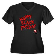 FEARnet Black Friday Women's Plus V-Neck
