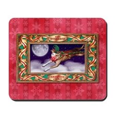 Santa's Employee of the Month Mousepad