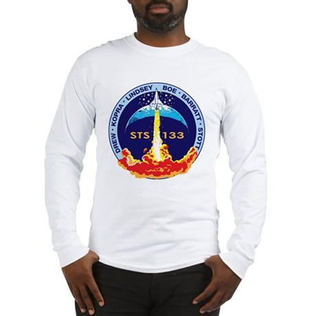 STS 133 Discovery Long Sleeve T-Shirt
