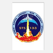 STS 133 Discovery Postcards (Package of 8)