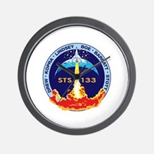 STS 133 Discovery Wall Clock