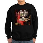 Lady (S) - Cairn Terrier 4 Sweatshirt (dark)