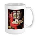 Lady (S) - Cairn Terrier 4 Large Mug