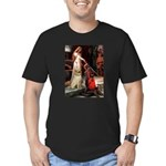 Accolade / Lab (Y-6) Men's Fitted T-Shirt (dark)