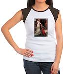 Accolade / Lab (Y-6) Women's Cap Sleeve T-Shirt