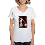 Accolade / Lab (Y-6) Women's V-Neck T-Shirt