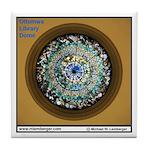 Ottumwa Library Dome Tile Coaster