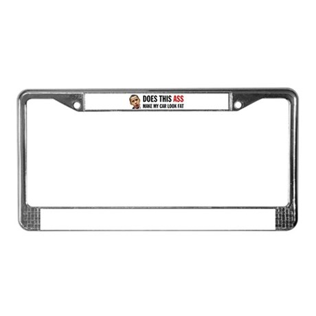 FATHEAD License Plate Frame