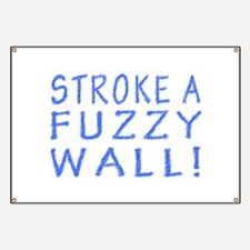 Fuzzy Wall Banner