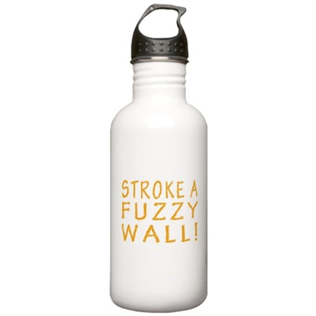 Fuzzy Wall Stainless Water Bottle 1.0L