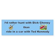 Dick Cheney Bumper Bumper Sticker