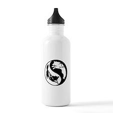 Yin-Yang Huskies Water Bottle