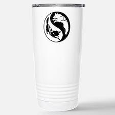 Yin-Yang Huskies Stainless Steel Travel Mug