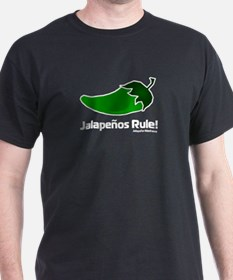 Jalapeno Chili Pepper Black T-Shirt