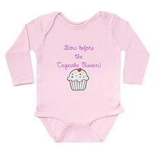 Cupcake Queen Long Sleeve Infant Bodysuit