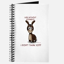 Life without donkeys Journal