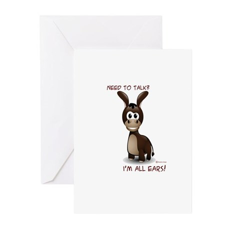 I'm All Ears Greeting Cards (Pk of 10)