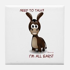 I'm All Ears Tile Coaster