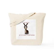 Ears big, Heart bigger Tote Bag